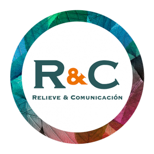 Logotipo de Relieve y Comunicación